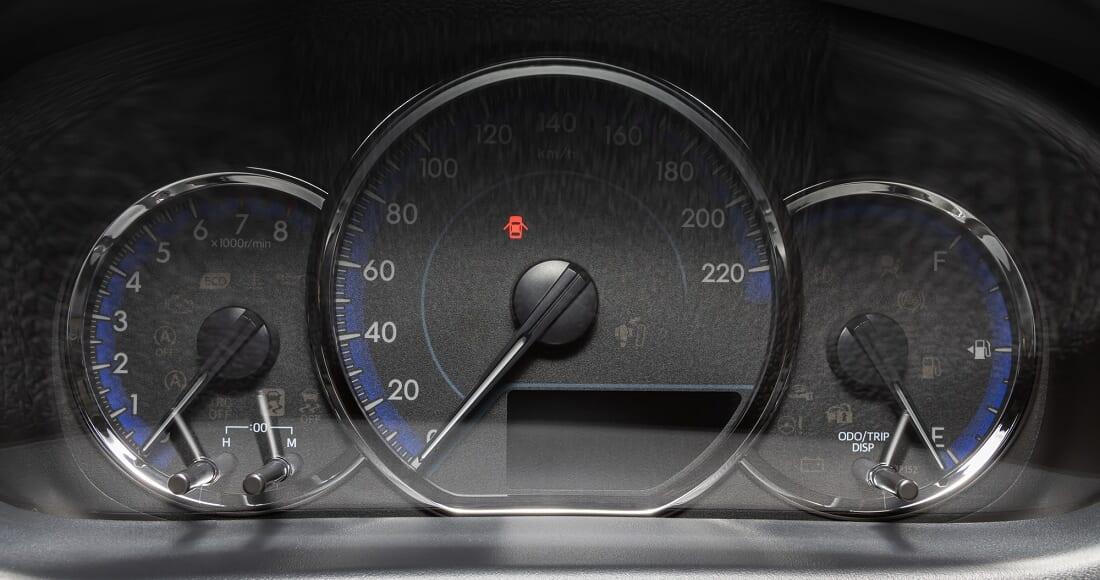 Car Dashboard and Door Open Signal